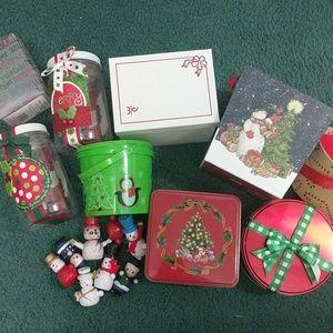Bundle of Christmas packaging